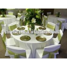 tissu de table de mariage