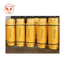 Ammoniak Gas reine flüssige Ammoniakflasche