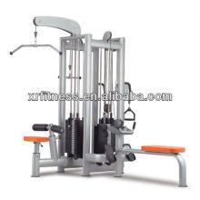 Vente chaude Club Utilisation Gym Machine 4 station trainer equipment