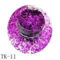Brillo de camaleón angular para esmalte de uñas resistente a los solventes Cambia el color desde diferentes ángulos