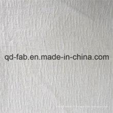 32% lin 68% en coton tricoté en jacquard (QF16-2511)