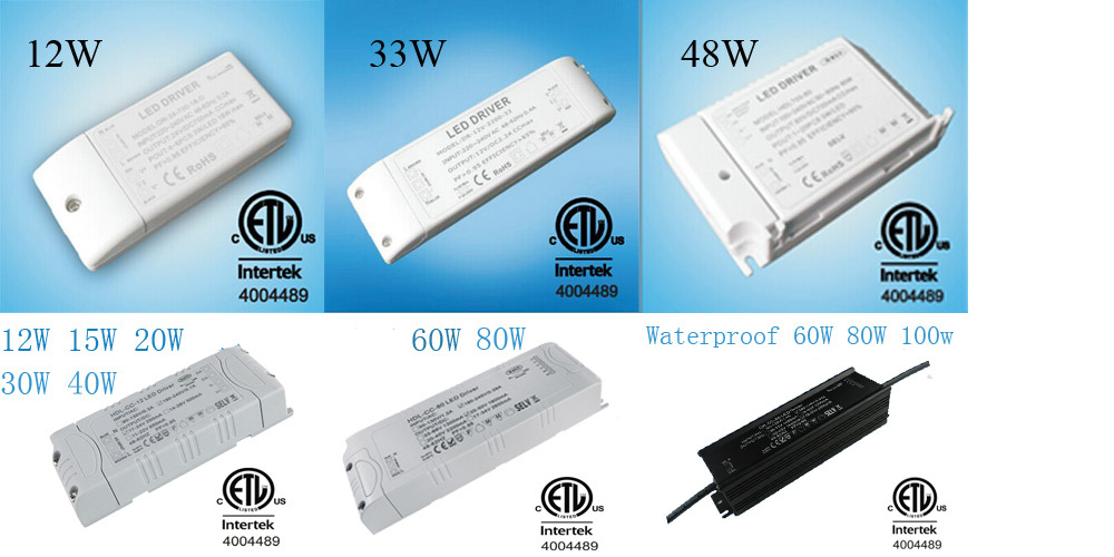 ETL Certification Plastic led driver