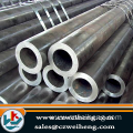 Carbon seamless steel pipe, 2.5-75/3-20mm thicknes.