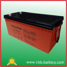Gel-tiefe Zyklus 12V Marine Batterie Gel 200ah Solar Batterie