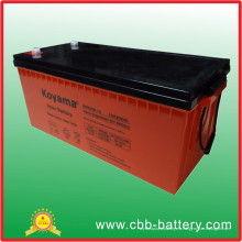Gel Deep Cycle 12V Marine Battery Gel 200ah batería solar