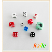 Colored Plastic dice