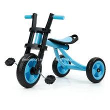 De buena calidad Triciclo simple del bebé con la rueda de EVA (AZUL de SNTR706-1)