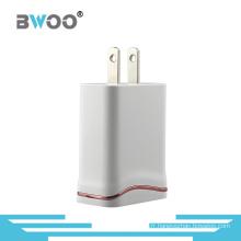 Adaptateur de chargeur de mur d'USB en gros EU / nous adapté aux besoins du client