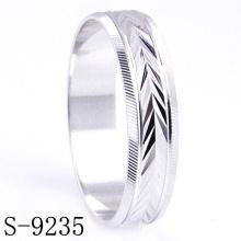 Anillos de compromiso / boda de plata de ley (s-9235)