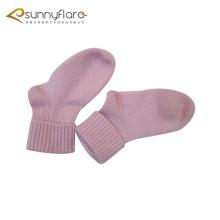 Cute 100% cashmere kids children socks