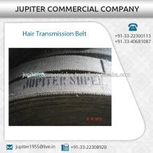 Courroie de transmission de cheveux à longue durée de vie assurée de qualité disponible à différentes tailles