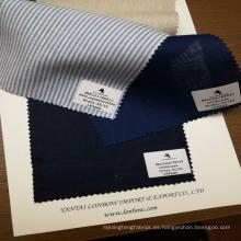 listo para stock hilado teñido 100% tela de lino telas para camisas