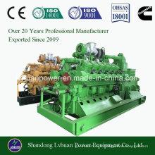 Générateur de gaz de gazéification de biomasse Genset 600kw
