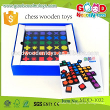 high quality chess toys OEM educational children chess wooden toys MDD-1032
