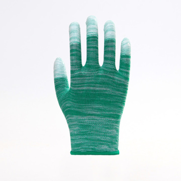 PU Top Coated Wear-resisting Safety Gloves