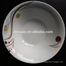 tazón de fuente de cerámica del cuenco de los tallarines del plato de China del mayorista