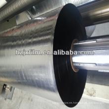 Película de aluminio recubierta de Mylar