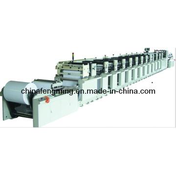 Бумажный флексографский принтер