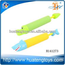 2014 novo estilo EVA canhão de água plástico canhão brinquedo canhões de água da água da arma H141273