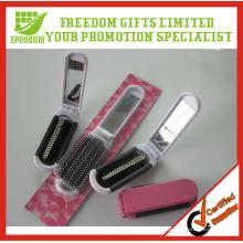 Ensemble de miroir de peigne de brosse à cheveux personnalisé imprimé en plastique