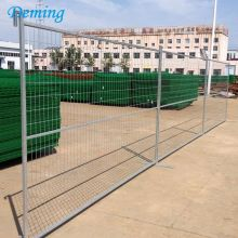 Canada Standard Galvanised Construction Temporary Fence