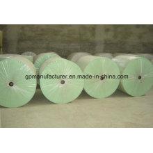 Tapis renforcé imperméable de polyester d'agrafe de tissu utilisé pour APP / Sbs modifié Bitument