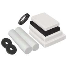 Moulding black plastic  PTFE   plate raw materials   sheet rod tube