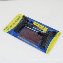 8PCS Auto-Fahrrad-automatisches Tubeless Reifen-Reifen-Punktion-Stecker-Reparatur-Werkzeug