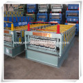 Galvanized Metal Double Layer Roofing Sheet Roll Forming Machine/Double Layer Roof Tile Roller Former Machinery