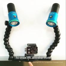 HI-MAX 2600 lumen proveedor de luz de vídeo de buceo