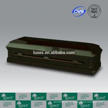 Sculpté à la main de LUXES cercueils en ligne pour vendre cercueils de placage peuplier