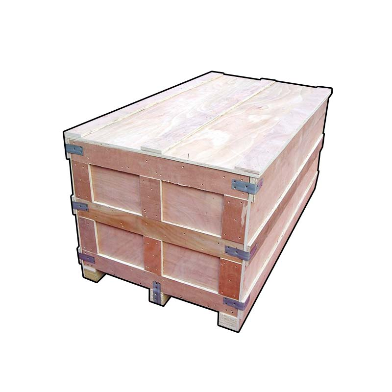 The solid wood logistics customized wooden box