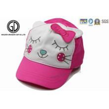 High Quality 100% Cotton Comfortable Baby Kids Sun Baseball Cap