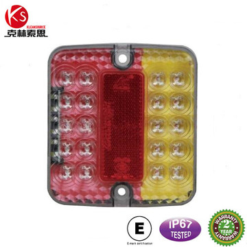 Ks001b imperméable à l'eau E-MARK/queue/arrière/plaque d'arrêt LED Light Truck