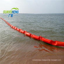 Emergency Condition Soild Flat PVC Boom/Quick Laying Oil Boom