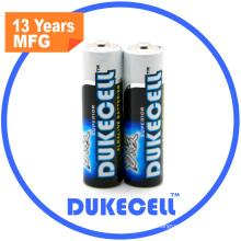 CE RoHS genehmigt Lr6 Größe AA Am3 1,5 V Batterie