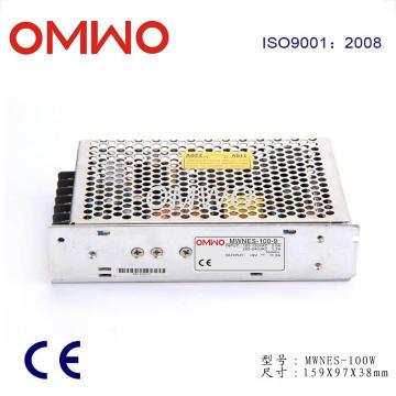 100W Salida simple Nes-100-9 Fuente de alimentación de conmutación 9V