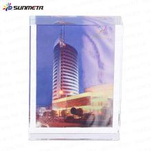 Sublimación marco de fotos de cristal BSJ-01