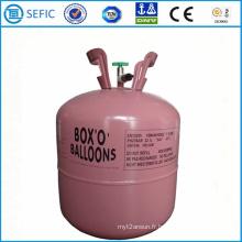Cylindre de gaz d'hélium avec le gaz d'hélium de 99,99% (GFP-22)