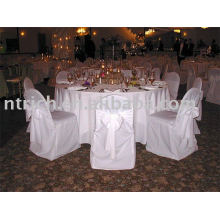 100 % polyester chaise housses, housses de chaise Hotel/Banquet