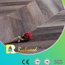 Herringbone AC3 E1 HDF Oak Parquet Laminate Flooring