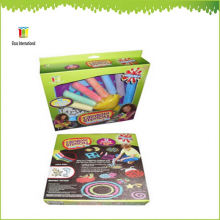 Kinder Bürgersteig farbigen Kunststoff Jumbo Kreide Pulver Halter