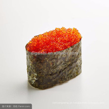 Venda Por Atacado Flying Fish Roe Frozen Seasoned Laranja Tobiko