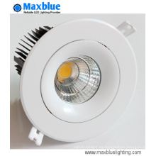 Triac 0-10V Dali Regulable 20W 25W CREE COB LED Downlight