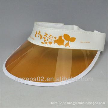 Benutzerdefinierte Sonnenblende Hut / Unisex Sonnenblende Hüte