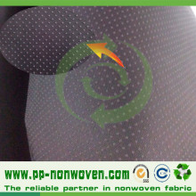 Disposable Slipper Sole Non-Slip Nonwoven PVC Coated Fabric