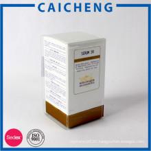 Private label paper board perfume box with die cutting eva foam insert