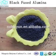 Première qualité d'usine prix pureté 95% poudre d'oxyde d'aluminium noir