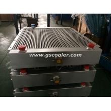 Enfriador de aluminio para maquinaria agrícola