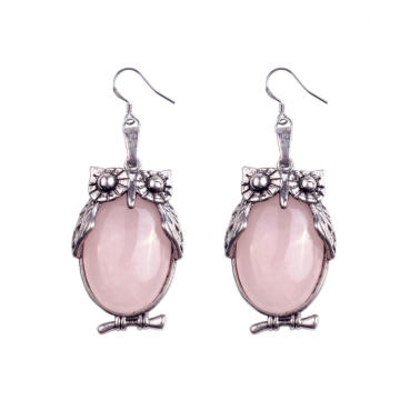 Latest Silver Owl Drop Dangle Earring Designs Charming Jewelry